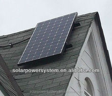 Complete with battery and brackets 500w wind solar hybrid power system