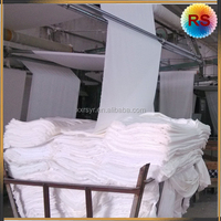 wholesale durable cotton white fabric roll