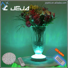 Rechargeable led base wholesale for Chinese glass vases