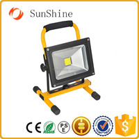 Portable ip65 rechargeable working light with magnetic foot