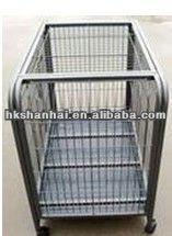 Hot sale heavy duty plastic dog cage