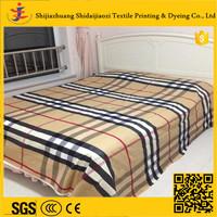 Home textile bedding fabric 100% percale cotton stripe bedding set