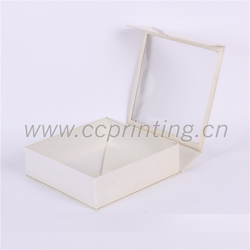 white cardboard foldable magetic box with PVC clear lid (1).jpg