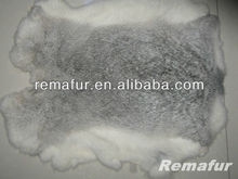 Genuine Tanned Chinchilla Color Rabbit Fur Factory Price
