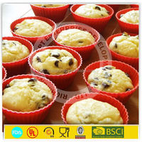 China Supplier Sedex Approved Factory silicone cupcake liner/silicone bakeware/baking cup