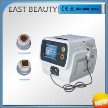 thermal and fractional rf skin tense machine