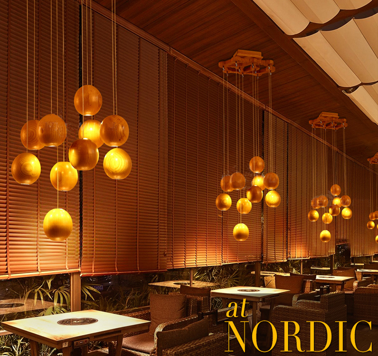 arte diseador creativa ikea comedor iluminacin simple lmpara colgante de madera lmparas