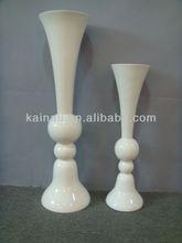 resin cheap art decoration flower vases