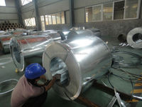 dx51d z galvanized steel coil as building material