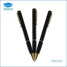 Jiangxi top quality soft gold clip grip metal pen bollpoint pen