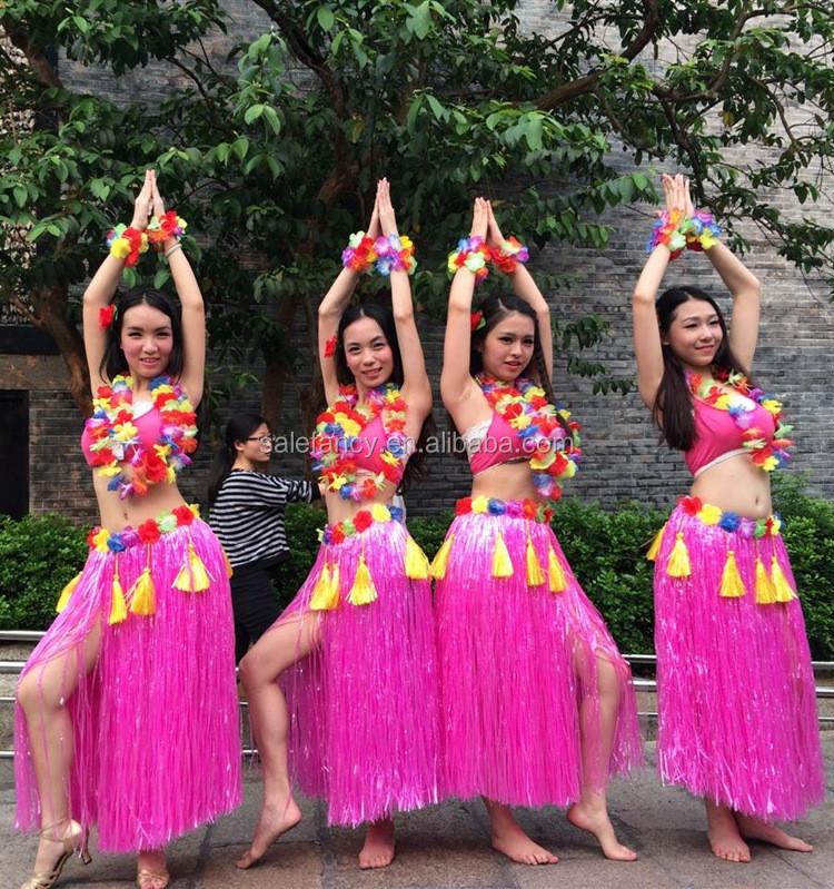 Детский костюм для гавайской вечеринки своими руками