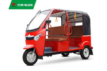 Three wheel electric trike for passenger with differential motor