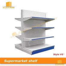 Double Sided Gondola Shelving Supermarket Shelf