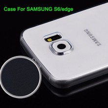 Transparent Ultra-Thin Clear Slim Hard Case Cover For Samsung,Galaxy S6 Edge case