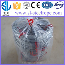 Fencing type ss wire cable rope