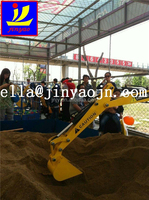 mini excavator for children, kids digger, security mini excavator for children