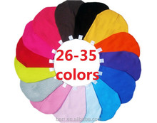 OEM can be customized 3 size many colors baby cap cotton hat 15001
