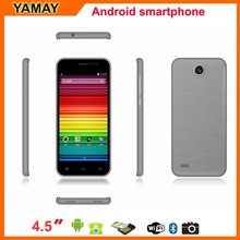 android mobile unlocked 4.5inch Quad Core Android 5.0 GPS ips screen 4g mobile phone, wcdma mobile phone