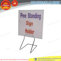 Retail Store Advertising display sign holder display floor stand