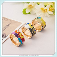 Fashion 2015 new arrival cheap wholesale men's gold ring unique jewelry design SSR-280
