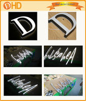 new design face light up led advertising sign letters,acrylic scarf promotional,shop acrylic letter