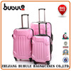 BUBULE !2015 Fashion design PP frame trolley case three sizes is available best designer trolley bag best brand trolley bag