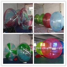 exciting transparent water toys water bounce ball