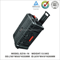 Plastic carrying case with handle waterproof
