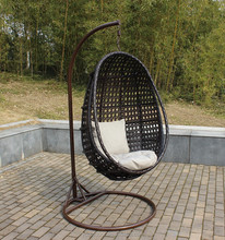 Factory price rattan hanging chairs for bedrooms, swingasan chair, outdoor swings for adults