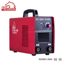 New portable inverter MMA welding machine 140A with strong performance
