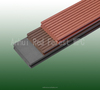 Anti-slip WPC composite flooring plank