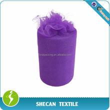 "Wedding decoration 6"" x 100yds purple Tulle roll"