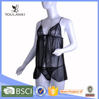 Best Design Ultimate Elastic Skin Soft Sexy Transparent Ladies Lingerie