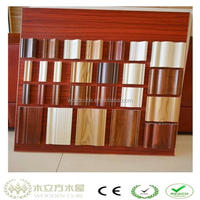 Wood plastic composite baseboard, like wood picture moulding