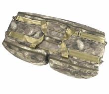 2015 New professional black aluminum gun case/double gun tactical REFILE GUN CASE
