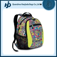 Flower spots design colorful sequin backpack bags