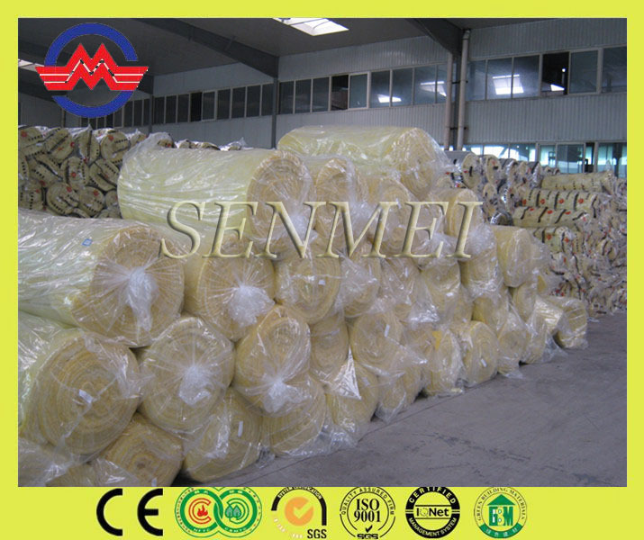 construction material glass wool roll