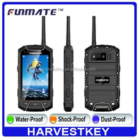 hot sale F32 NFC phone rugged waterproof cell phone with walkie talkie android 4.2