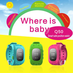 !! kids tracking watch with Geo-fencing / kidnapping trcker watch oem / SOS calling Children watch