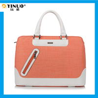 YINUO Waterproof Casual Patchwork Laptop Bag for Macbook Pro 13 15-inch for iPad