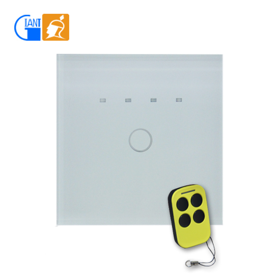 Fan Or Light Wall Remote Control : Touch Screen Light Remote Control Wall Switch 2 Gang 1 Way With Led Light Jj-tsab-01 - Buy 2 ...