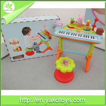 Hot selling ABS material children musical instrument organ