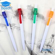 plastic gift logo printing Contour promotional pen