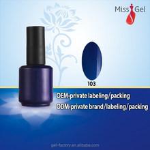 2015 Best selling Salon Gel Polish,shining color gel polish for nail