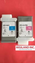 Compatible Canon image PROGRAF PFI-102 Ink Cartridges For Canon IPF500 ipf510 Plotter Printer