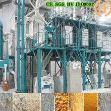 commercial corn grinder machine with steel structure