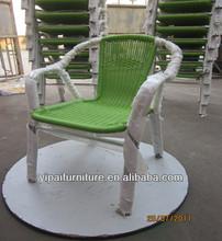 patio stacking aluminum rattan wicker garden chair YC030
