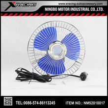 """XRACING 2015 NMJC807 6"""" Oscillating CAR FAN 12V / 24V car fan/ Hottest auto cool solar car fan,solar ventilator for car heat dis"""