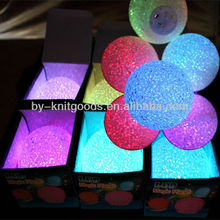 2013 led toys colorful crystal ball for decoration and children at home