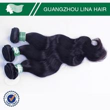 100% human hair unprocessed model model hair extension wholesale